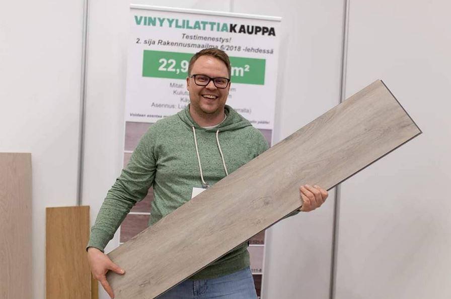 Bambumies eli Nordic Floors Oy:n Jukka-Pekka Kallio